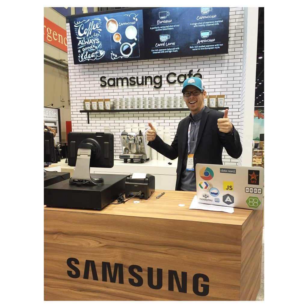 Samsung Cafe Display
